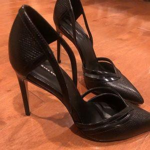 Classic Black stiletto heels by Zara